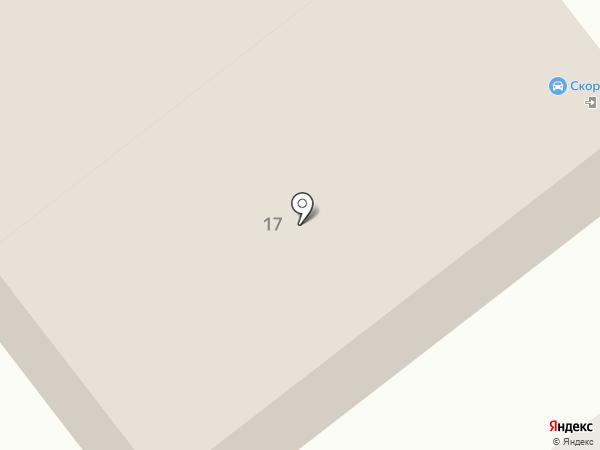 Магнит на карте Самары