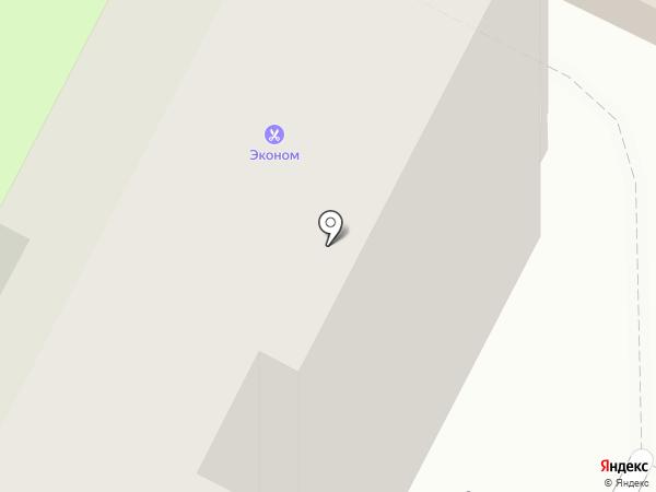Эконом-парикмахерская на карте Самары