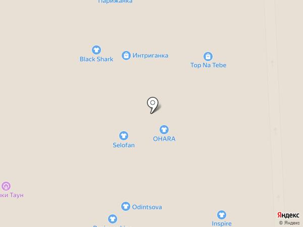 Студия моды Олеси Строгановой на карте Самары