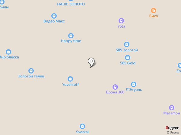 Сова на карте Самары