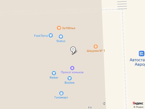 Status на карте Самары