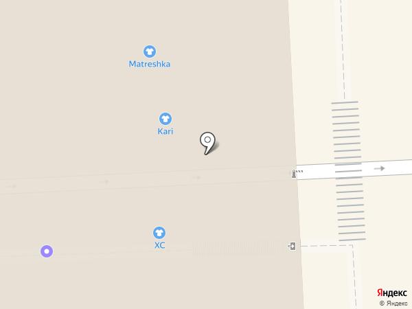 Папа Джонс на карте Самары