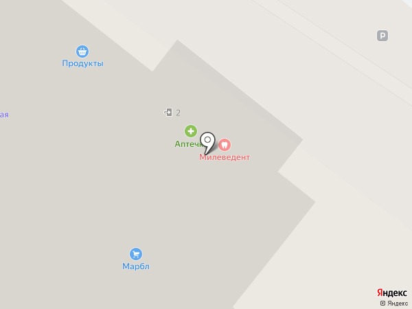 Продукты на карте Самары