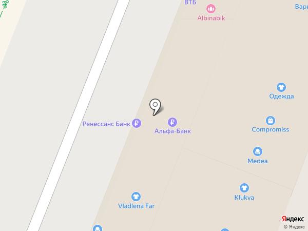 Платежный терминал, Банк ВТБ 24, ПАО на карте Самары