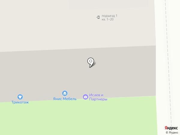 Янис-М на карте Самары