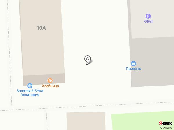 Хлебница на карте Самары