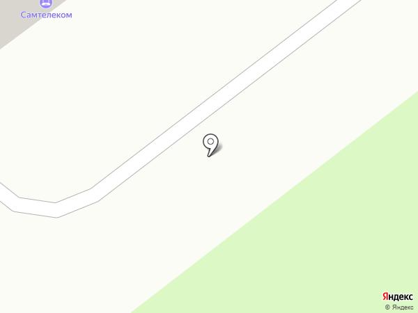 СамТелеком на карте Самары