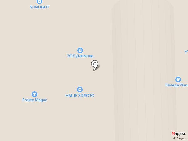 Магазин сумок на карте Самары