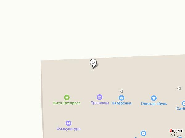 Непроспи на карте Самары