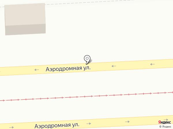 Киоск по продаже колбасных изделий на карте Самары