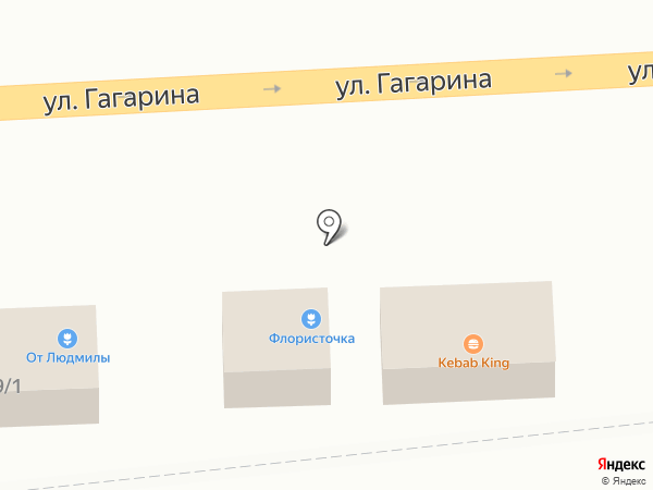 Закусочная на карте Самары
