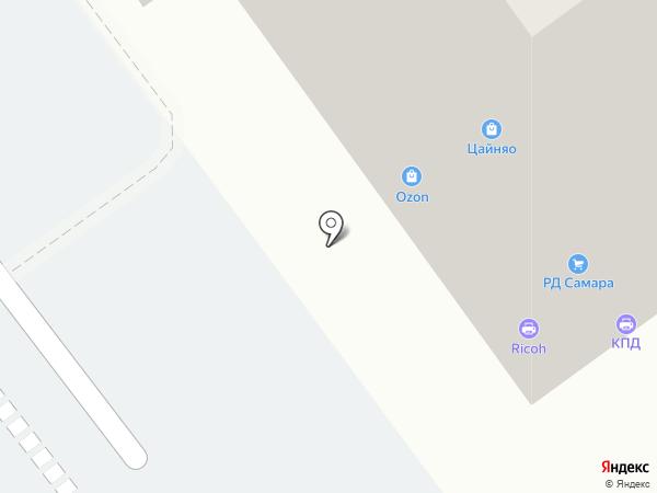 Заправка на карте Самары