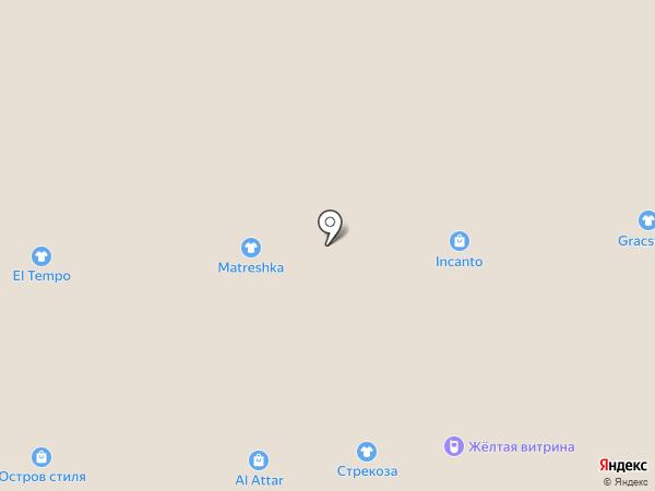 Магазин головных уборов и перчаток на карте Самары