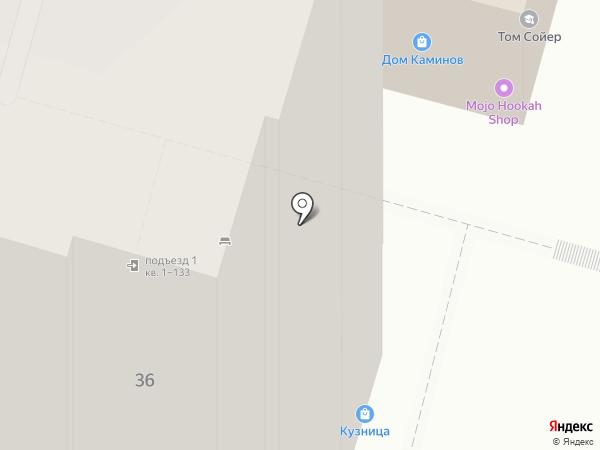 Радужный на карте Самары