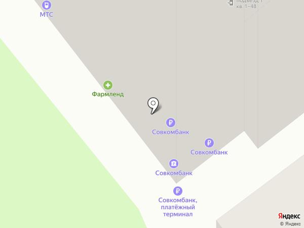 Приосколье на карте Самары
