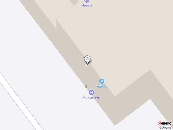 Чайка на карте Самары
