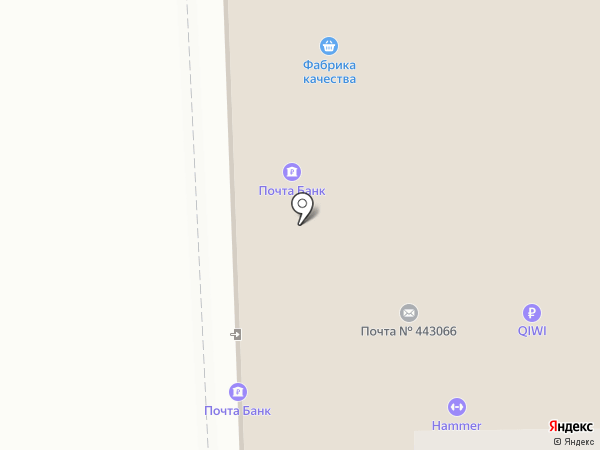 Hammer на карте Самары