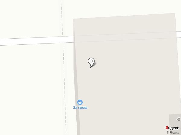 Грош на карте Самары