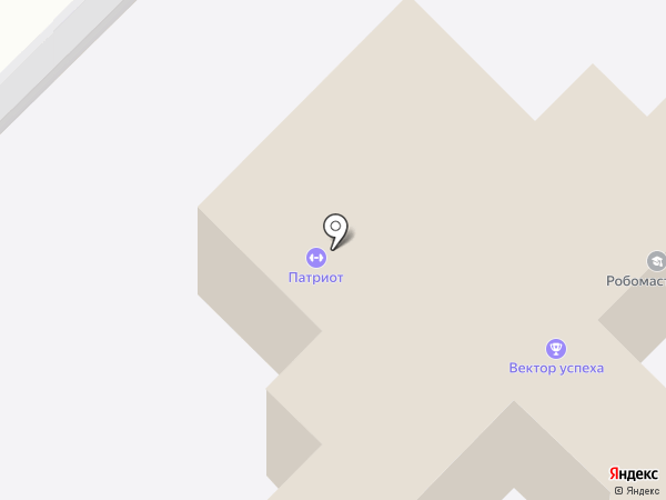 РАДУГА на карте Самары