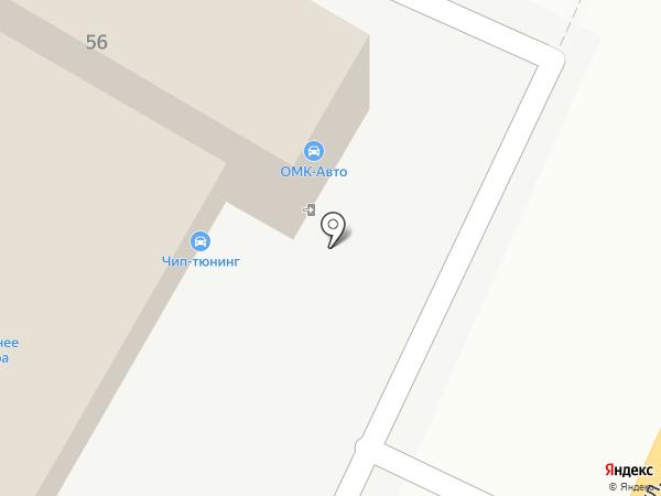 Векастом-Авто на карте Самары