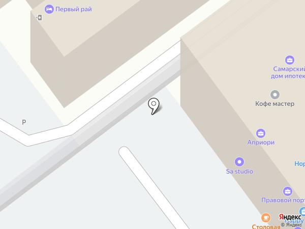 1 Рай на карте Самары