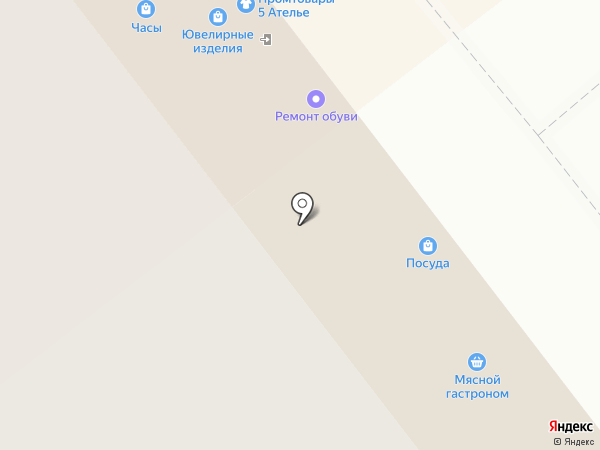 Магазин фабричной мебели на карте Самары