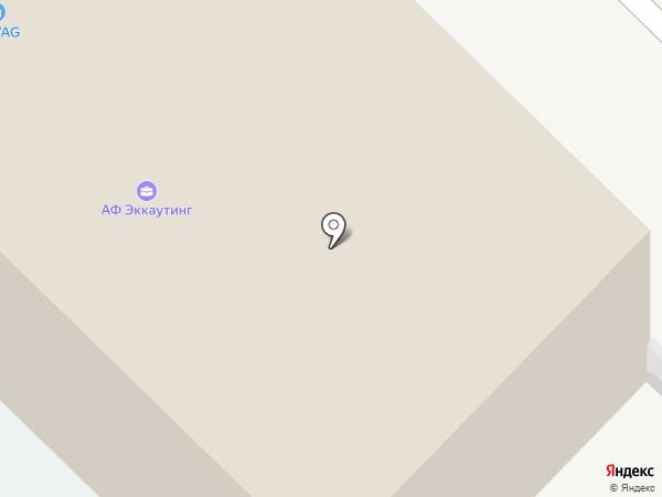Е.В.А. Транс на карте Самары