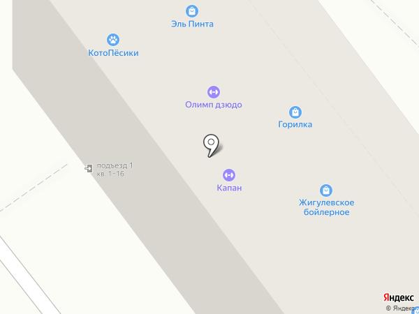 АП СЕРВИС на карте Самары