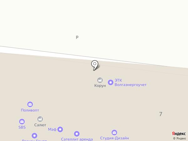 САМУПАК на карте Самары