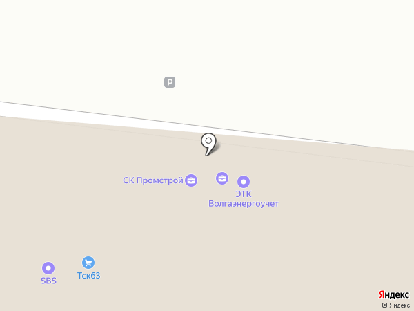 НацСтрой-Гарант на карте Самары