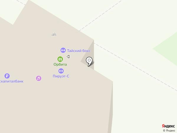 Орбита на карте Самары