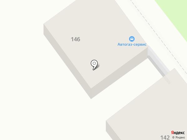 Автогаз-сервис на карте Самары