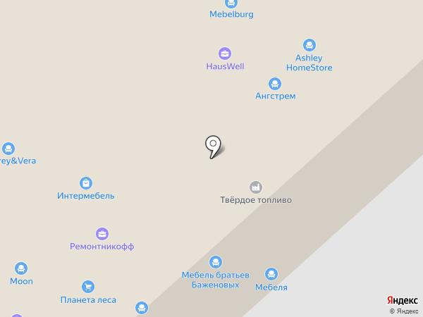 MOON на карте Самары