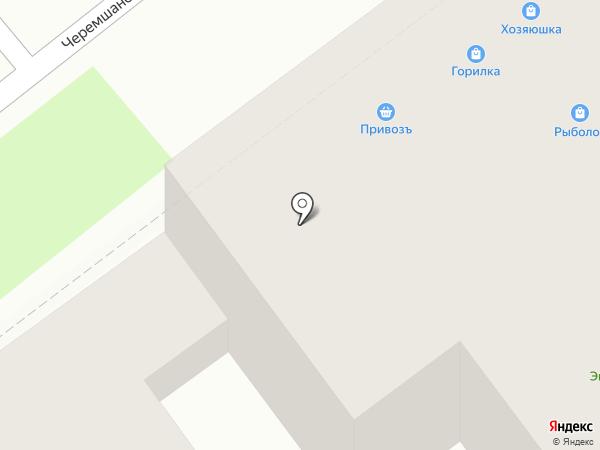 Привозъ на карте Самары