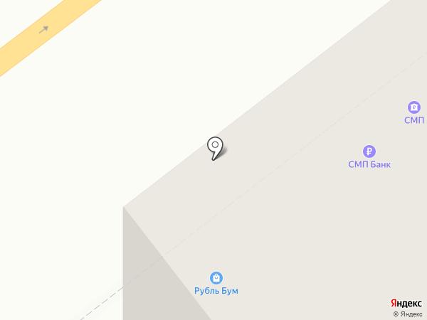 Рубль Бум на карте Самары