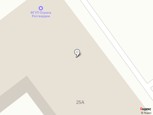 Охрана Росгвардии, ФГУП на карте Самары