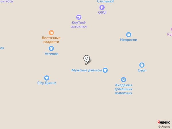 Модные детки на карте Самары