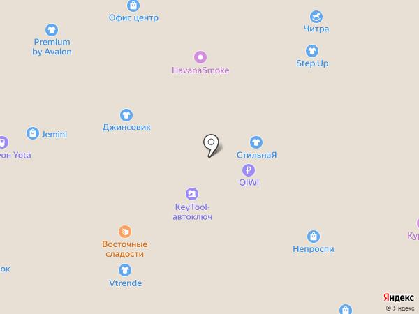 Элекснет на карте Самары
