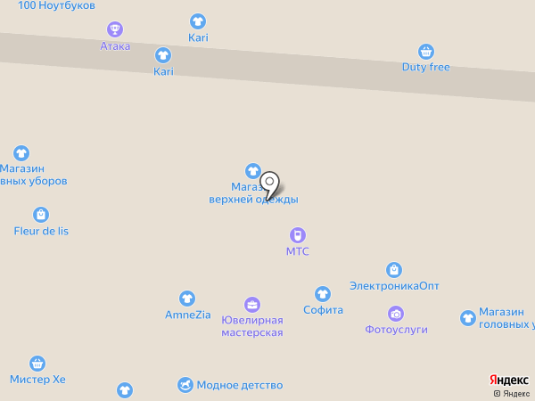 Business line на карте Самары