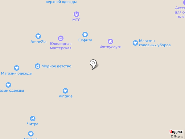 Полцены на карте Самары