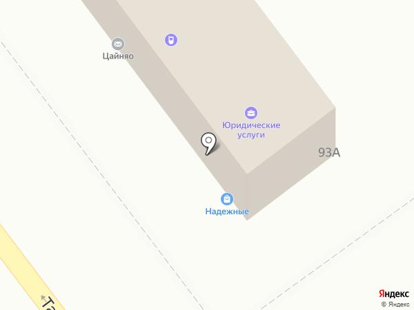 Косуля на карте Самары