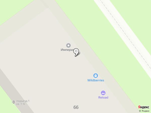 Forza viva на карте Самары