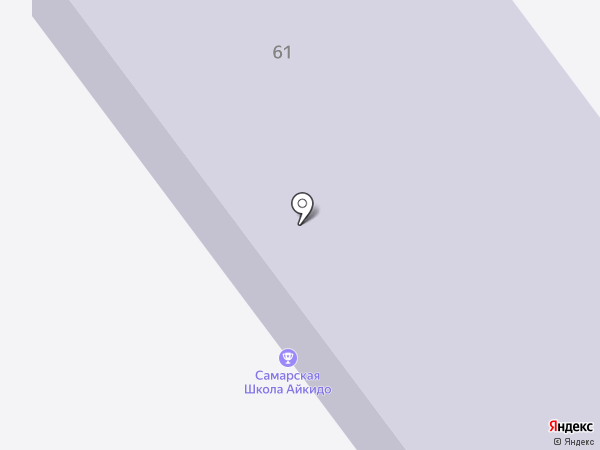 Спартанец на карте Самары