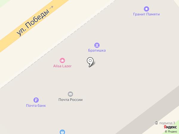 Сеть мебельных салонов на карте Самары