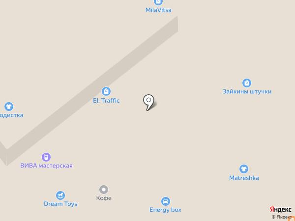 Магазин шапок на карте Самары