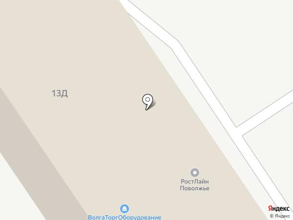 Астэр-Самара на карте Самары