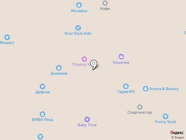 Inario на карте Самары