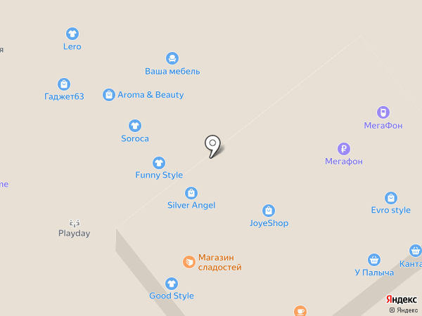 Sweet Market на карте Самары