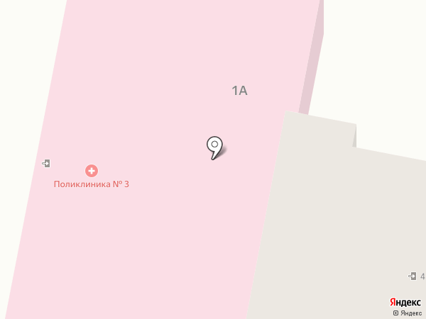 Поликлиника на карте Мирного