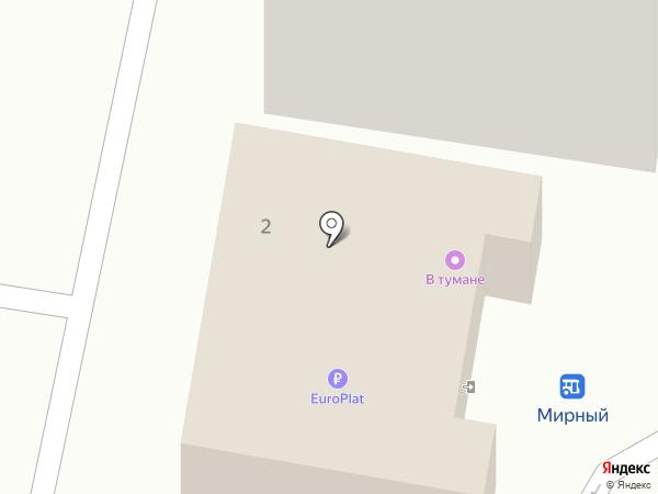 Фабрика качества на карте Мирного
